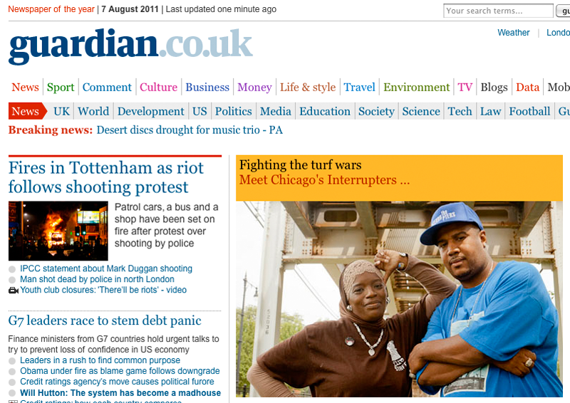 The Interrupters article in The Guardian