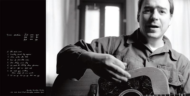 "Cover art for Jason Molina's album, ""Let Me Go, Let Me Go, Let Me Go."" Photo by Jim Newberry."
