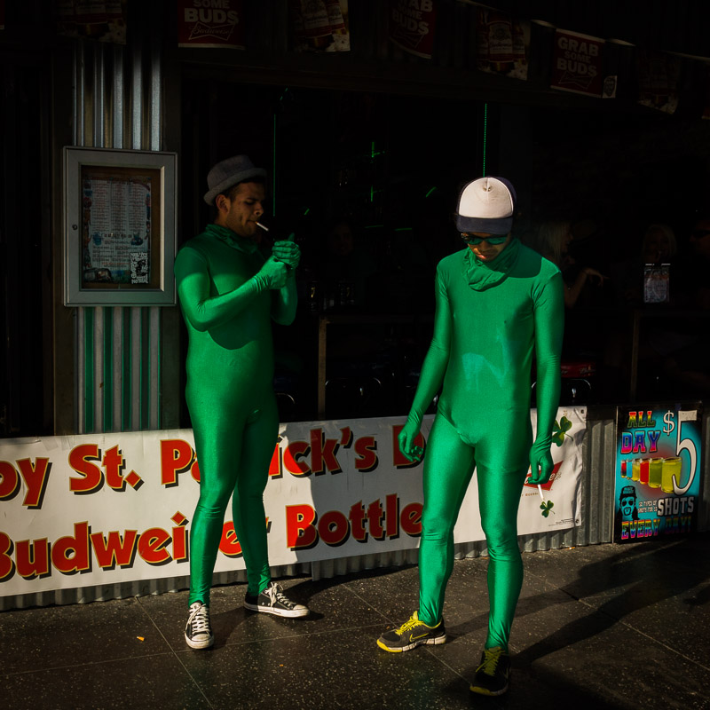 St. Patrick's Day, Los Angeles, photo by Jim Newberry.