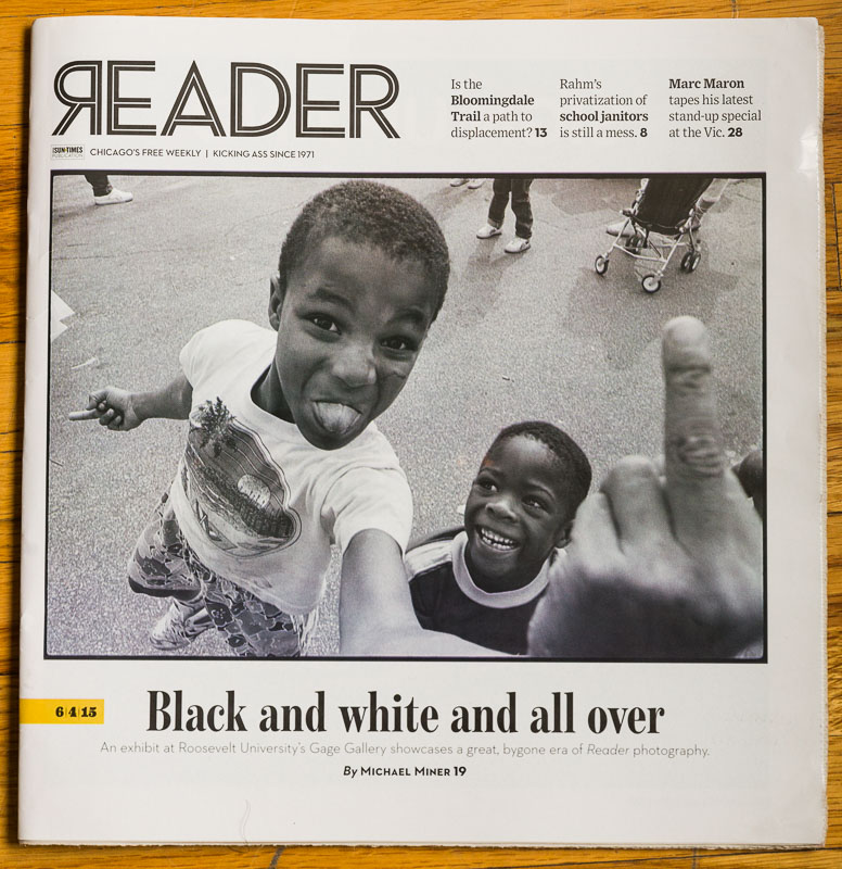 Chicago Reader cover, June 2015
