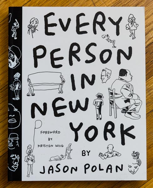 Every Person in New York by Jason Polan.