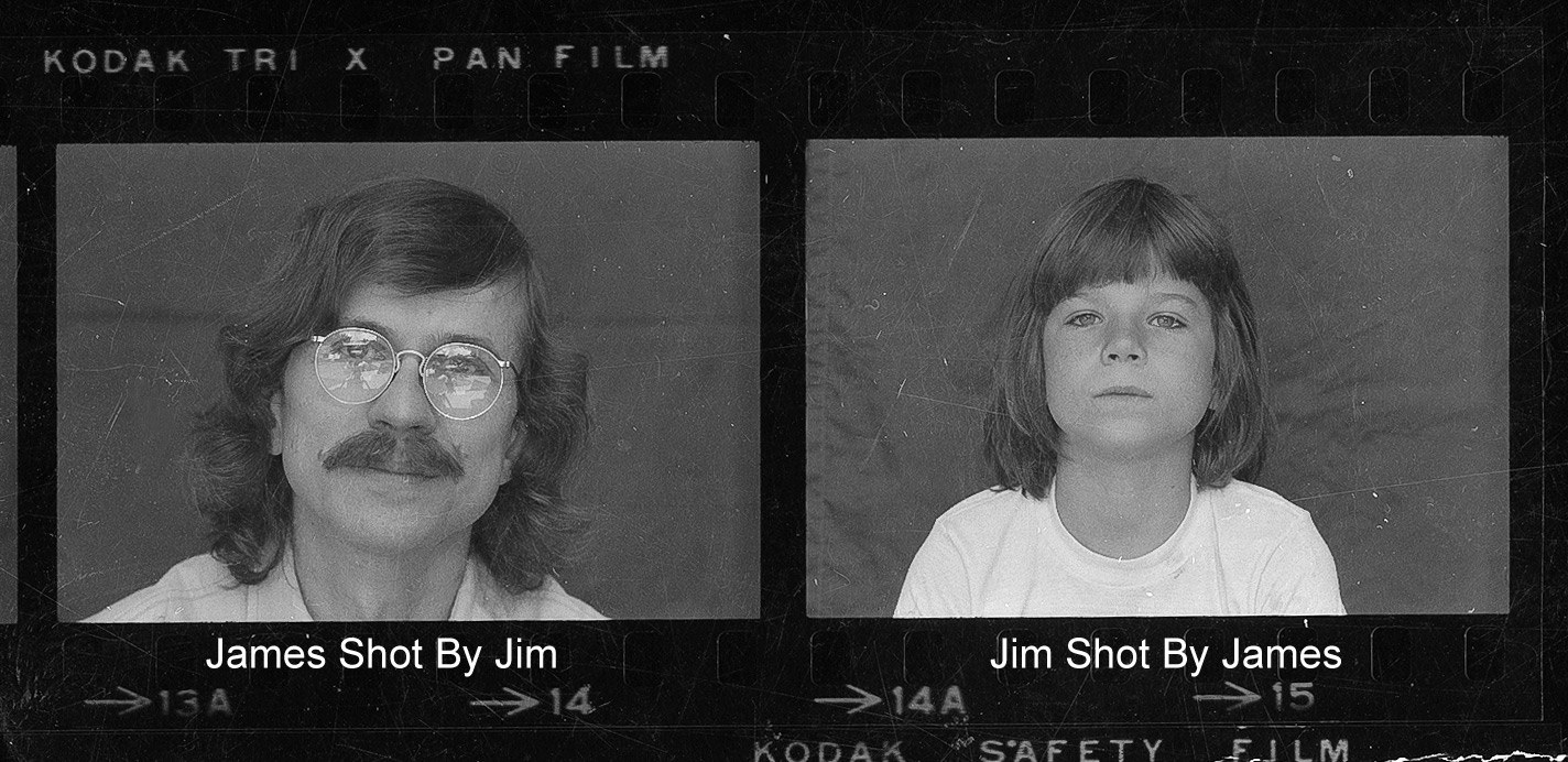 Portraits of James Newberry and Jim Newberry